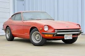 The iconic Datsun Z, posing for a photo